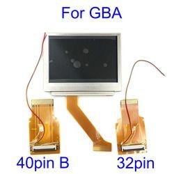 Pour Nintendo Gameboy Advance LCD Écran Pour GBA SP AGS 101 Highlit Écran LCD OEM Rétro-Éclairé Plus Lumineux avec 40pin/32pin ruban câble
