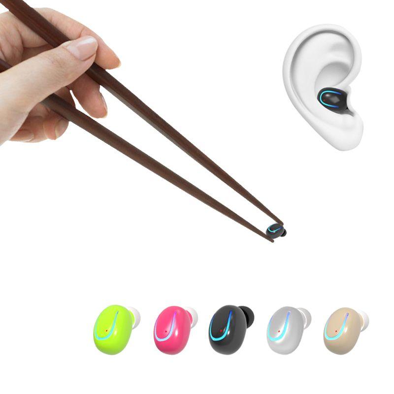 Mini Portable Bluetooth Écouteur Sans Fil Bluetooth Mains Libres Appel Téléphonique Écouteur Pour iPhone Samsung Téléphones Intelligents