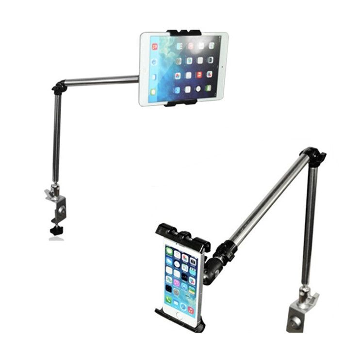 Rock 360 Grad Flexible Arm Tablet Pad Halter Ständer Lang Faule menschen bed desktop tablet halterung für ipad mini ipad 234 iphone 7
