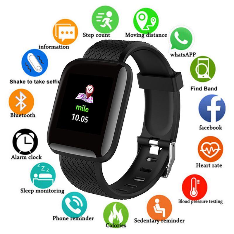 D13 Sport montre intelligente hommes pression artérielle étanche Ip67 Smartwatch moniteur de fréquence cardiaque Fitness Tracker montre pour Android IOS