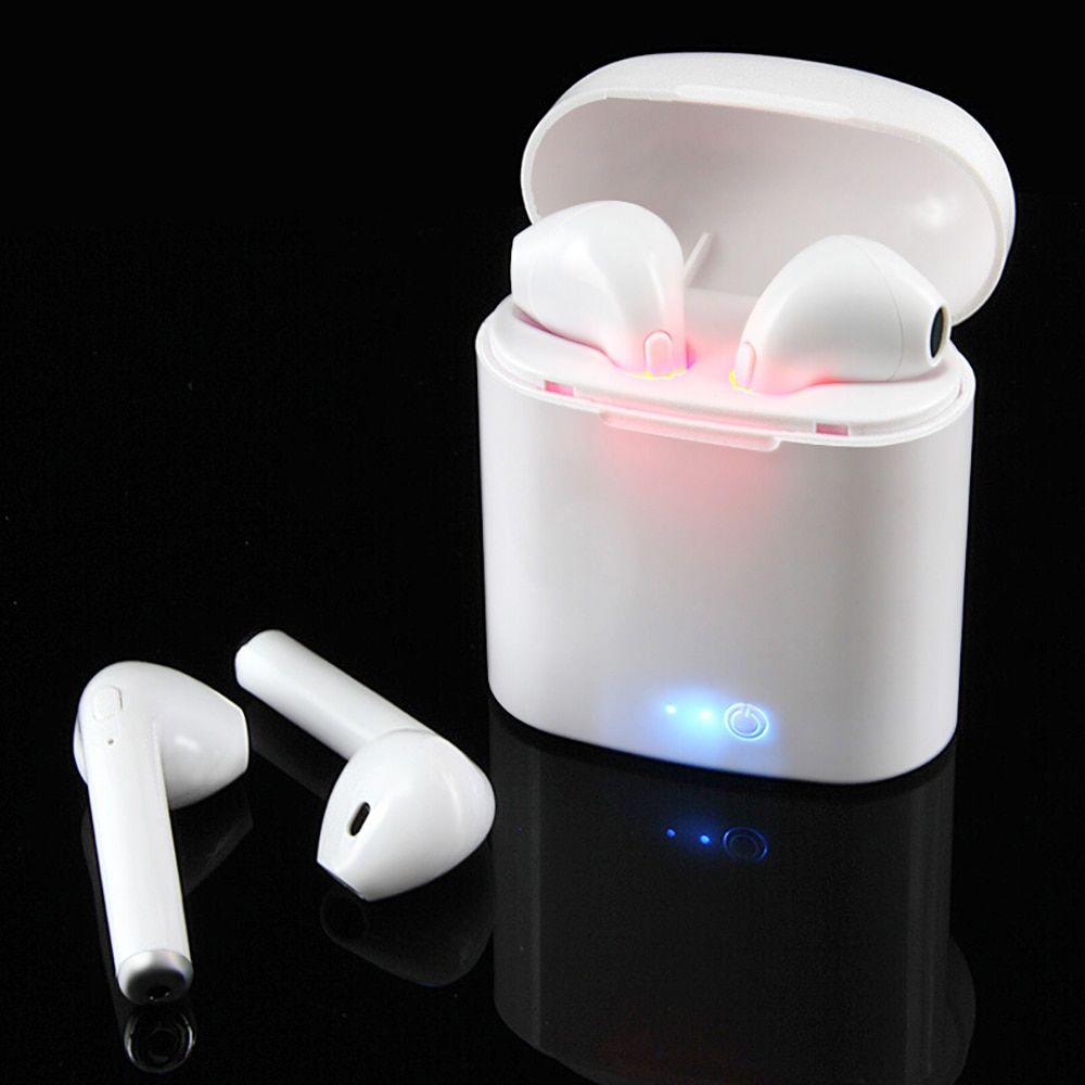i7 Tws Mini Wireless Bluetooth Earphone Stereo Earbud Headset Bluetooth 5.0 Earphones Earpieces Mic For All Smart phone