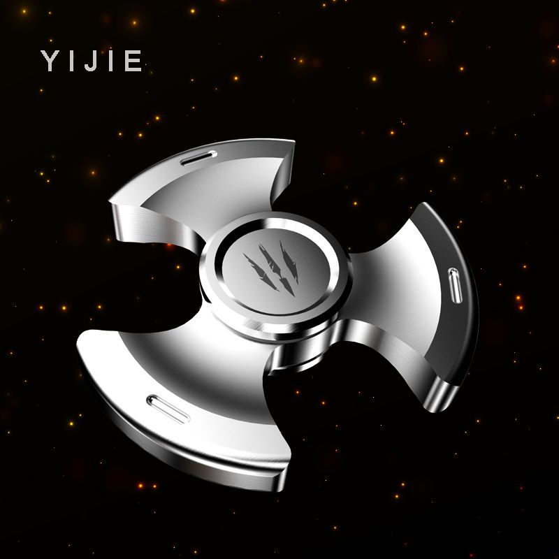 YIJIE Fidget Spinner hand Metal Fidget Spinner Anti Stress Puzzle Christmas Gift Toys to Kids Adults Finger Spiner Toys
