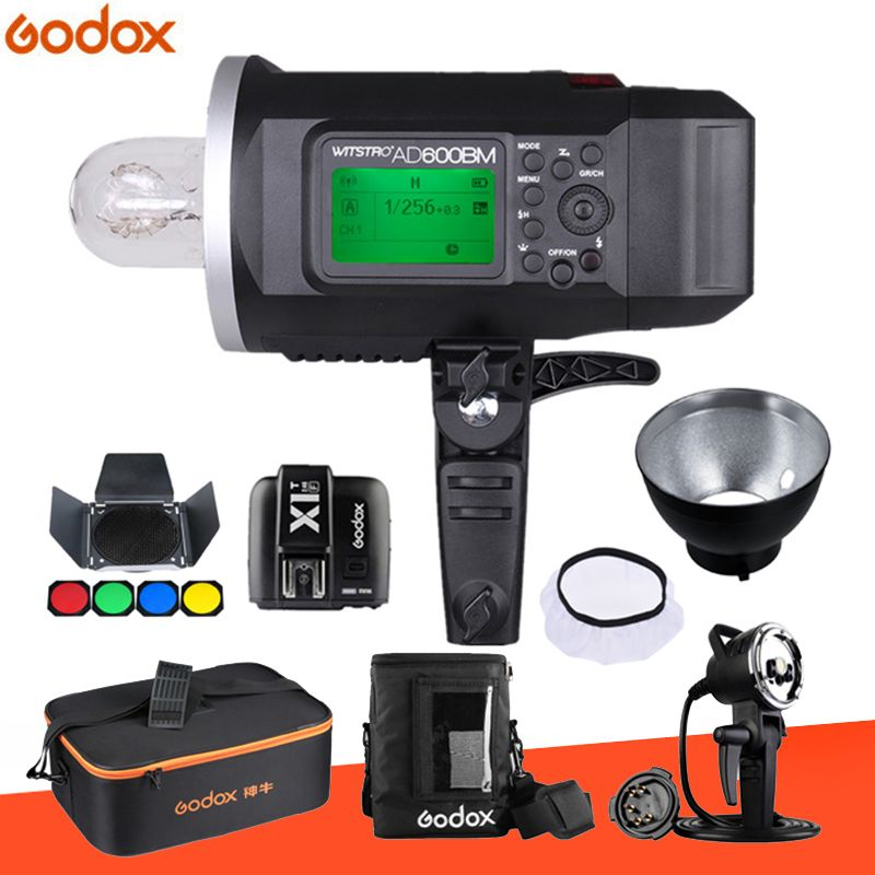 Godox Wistro AD600 AD600BM Manual Version Bowens Mount GN87 HSS 1/8000S 2.4G X System All-In-One Outdoor Strobe Flash Light