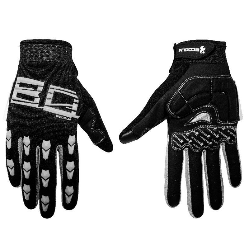 Boodun Gym Gloves Men Women Body Building Full Finger Fitness Gloves An-slip Weight Lifting Sports Training Fingerless Gloves
