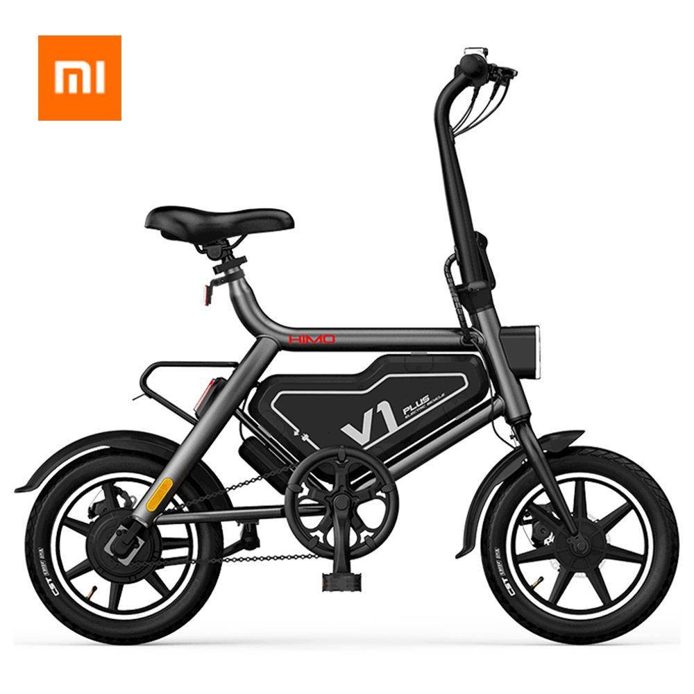 Xiaomi HIMO V1 Plus Tragbare Falten Elektrische Moped Fahrrad Maximale geschwindigkeit 25 km/h Smart bike Outdoor Xiaomi Elektrische roller