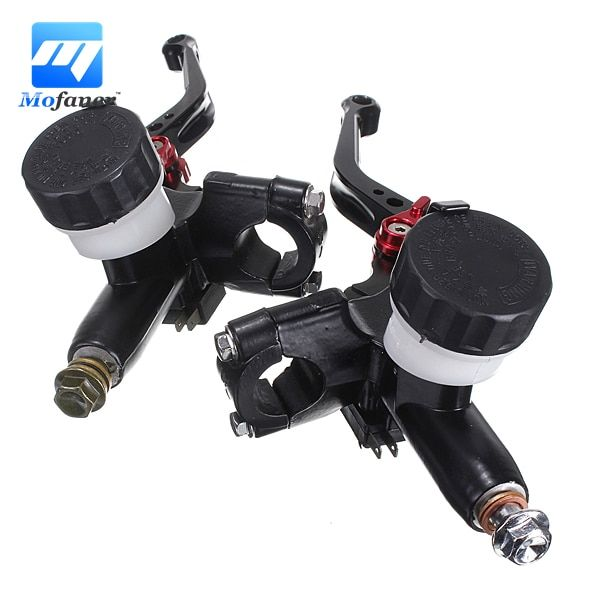 7/8 inch Universal Motorcycle CNC Hydraulic Brake Master Cylinder And clutch Lever For Scooter Left Right