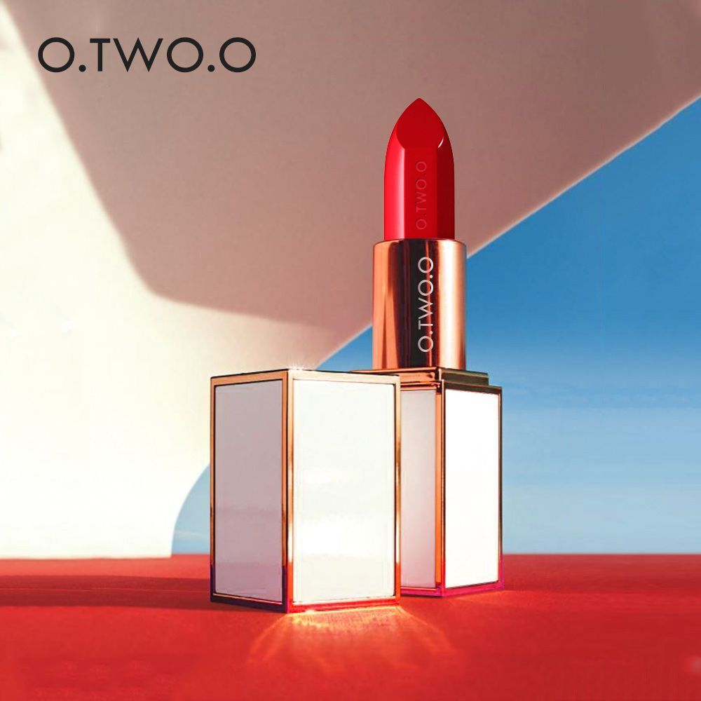O.TWO.O 20 Colors Soft Cream Lip Stick Moisturizer Long Lasting Makeup Water proof lipstick