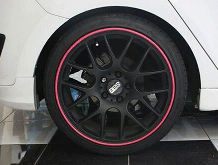 Hight Quality 8M/Roll Car Wheel Hub Tire Sticker Car Decor Styling Strip Wheel Rim Tire Protection Car Covers Auto Accessories