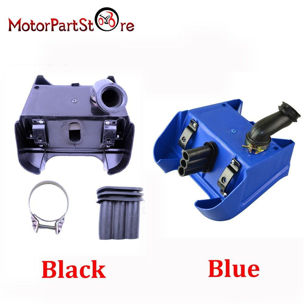 1 Pc Air Box Filter for Yamaha PW80 PW 80 PEEWEE Dirt Bike Black Blue Available $