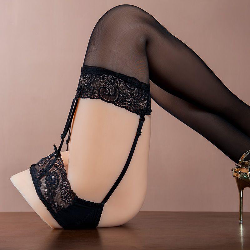 JELLYDOLL Sex Shop Halbkörper Sex Puppe Bein Für Mann Reinem Silikon Haut Und Metall Skeleton Realistische Vagina Und Anal beine Mannequi