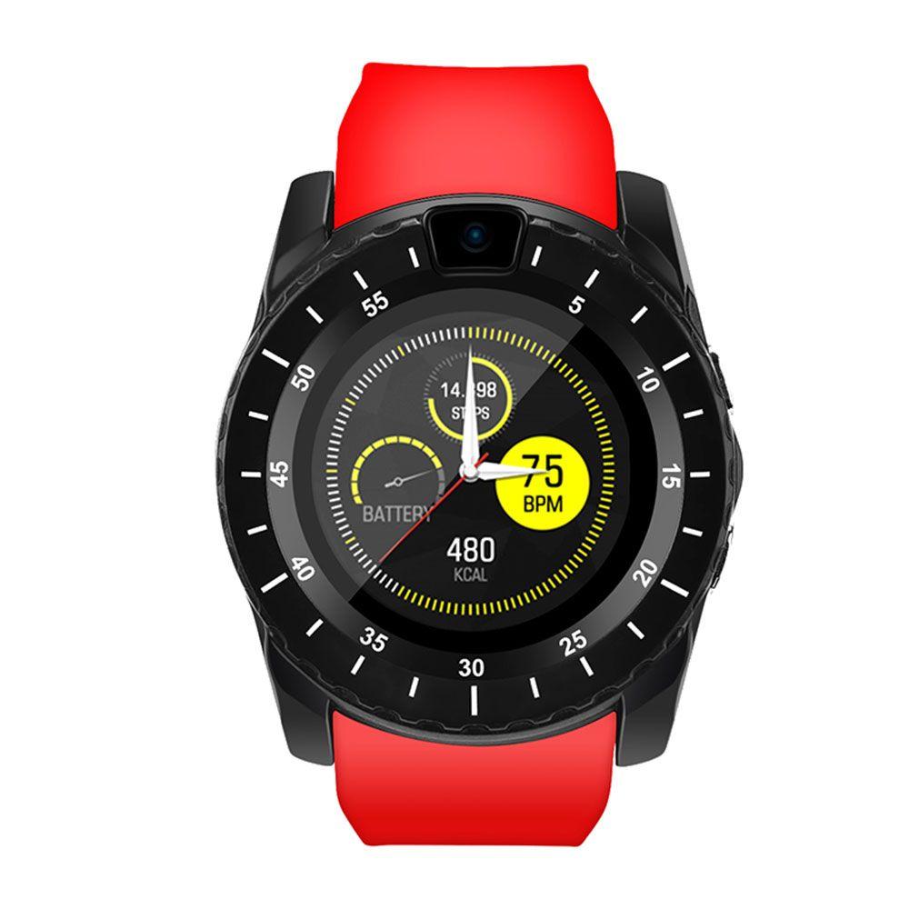 V8S débloqué Bluetooth montre intelligente débloqué FitnessTracker avec carte SIM montre pour Android Samsung Huawei LG Xiaomi Sony IOS