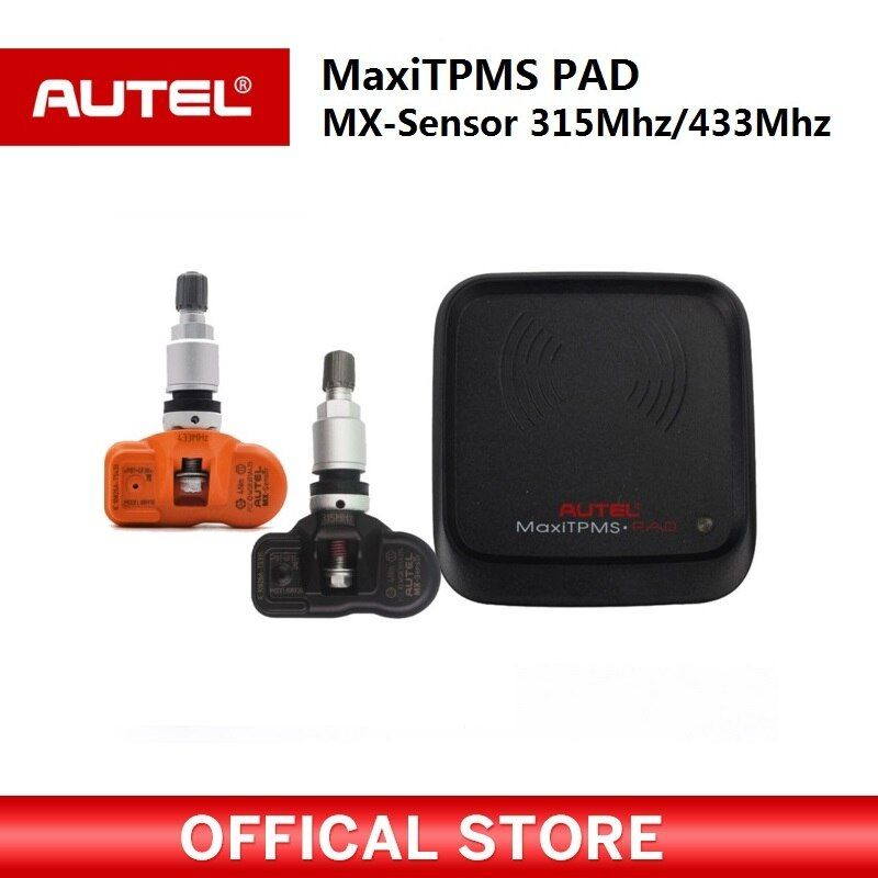 Autel MaxiTPMS PAD programmer Tire Pressure programming TPMS Sensor MX-Sensor 433 315MHz Mx Sensor autel TPMS tool for ms906ts
