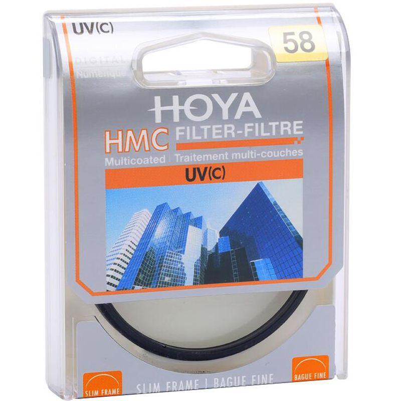 Hoya UV 58 mm lentille en verre optique protecteur ultra - violet polarisant HMC UV ( C ) Camera Lens Filtre pour SLR Camera Lens