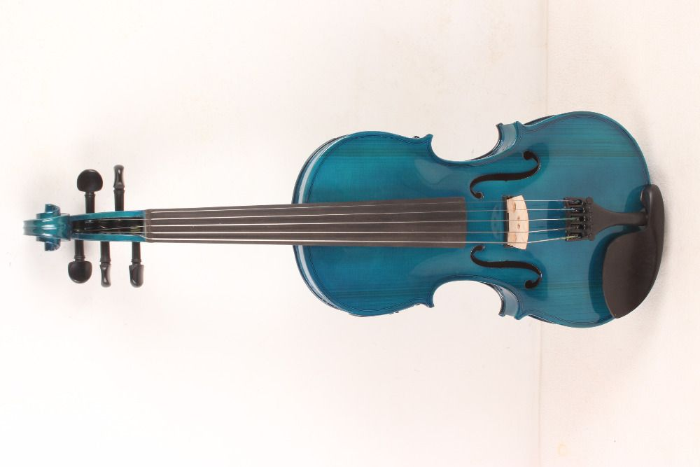 new 5-String blue 4/4 Electric Acoustic Violin color #1-2531# what color do you like?