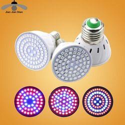 Full Spectrum cfl LED Grow Light Lampada E27 E14 MR16 GU10 IR UV Indoor Plant Lamp Flowering Hydroponics System Garden 110V 220V