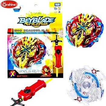 Chaude Toupie Beyblade Burst B-48 B-66 Démarreur Zeno Excalibur. M.I (Xeno Xcalibur. M.I) boîte D'origine avec lanceur enfants jouets