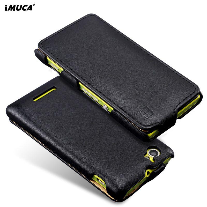 Für Sony Xperia M C1905 Fall iMUCA Leder Flip Fall für Sony Xperia M C1904 C1905 Telefon Fall-abdeckung Für Sony Xperia M Dual C2005