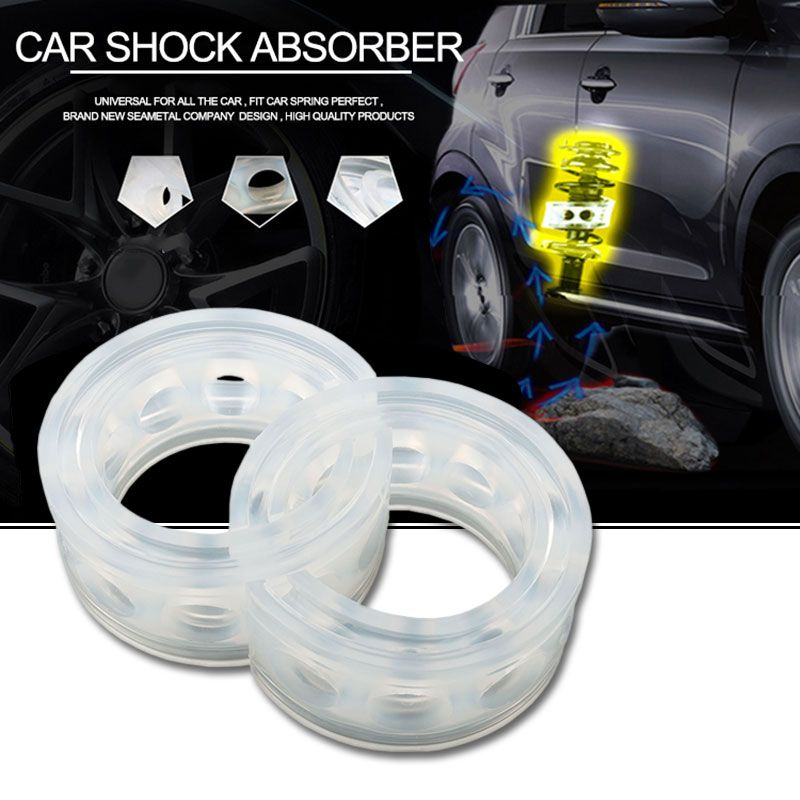 Car Buffer Auto Spring Buffers A B C D E F Type Universal Coil Urethane Cushion in Shock Absorber Springs Rubber Buffer For Cars
