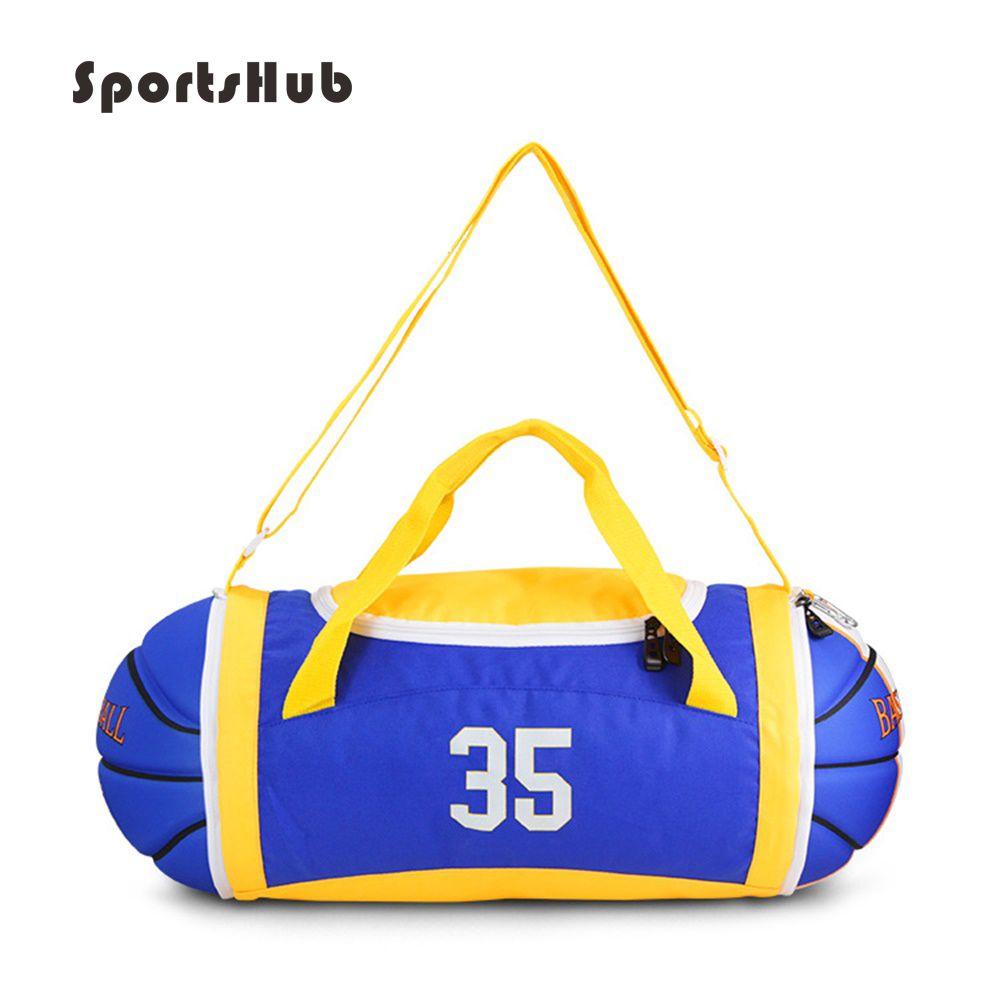 SPORTSHUB 67*24*24CM Firmly EVA/PU Outdoor Sports Bags Shoulder Basketball Ball Bags Basketball Training Accessories SB0010