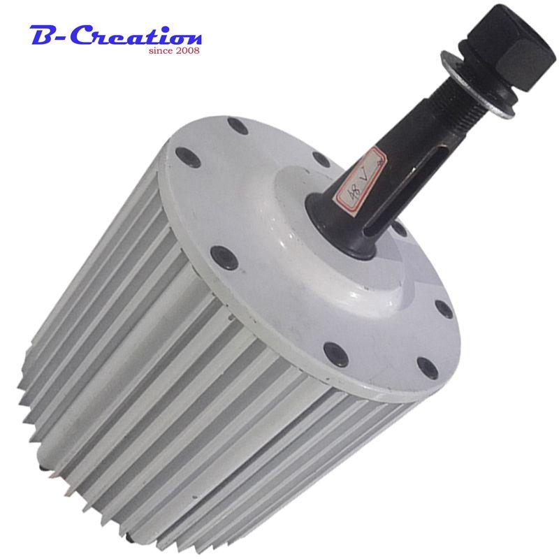 Niedrigen drehzahlen 2 kw 2000 w 220 v 380 v bürstenlosen permanent magnet generator für DIY wind generator