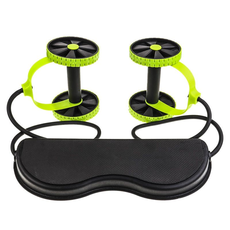 Ab Roller Wheel Abdominal Muscle Trainer Wheel Arm Waist Leg Exercise Multi-functional Exercise Gym Fitness Equipments With Bag