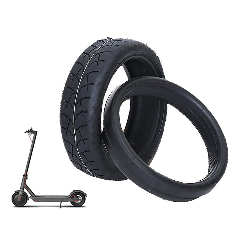 8.5 inch Scooter Tire for Xiaomi Mijia M365 Electric Scooter Outer Tyre 1/2 X 2 Inner Tube Thicken Non-slip Pneumatic Tires Sets