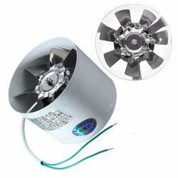 2800R/Min Conduit Booster Vent Fan de Métal 220 V 20 W 4 Pouce Inline Conduits Ventilateur D'échappement Ventilateur Conduit De ventilation Accessoires 10x7.5 cm