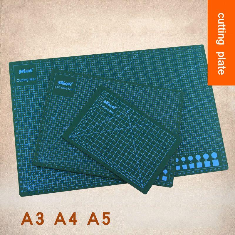 Haute qualité 1PC PVC modèle faisant la planche à découper planche à découper sculpture Patchwork outils fait à la main accessoires à créer soi-même argile support A3 A4 A5