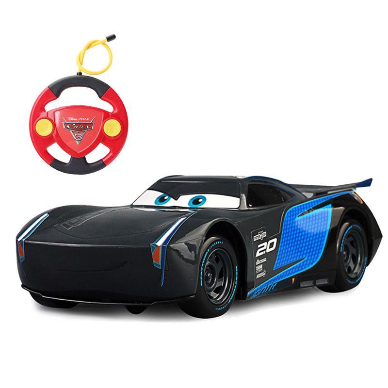 Disney Pixar автомобили 3 Освещение McQueen Джексон Storm Крус Рамирес Дистанционное управление Пластик модель автомобиля подарки на день рождения для...