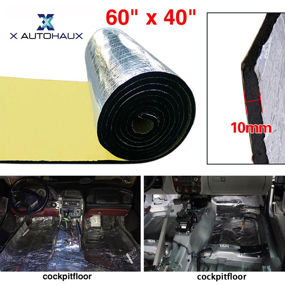 X AUTOHAUX 10mm 394mil 16.36sqft 152cm x 100cm 60