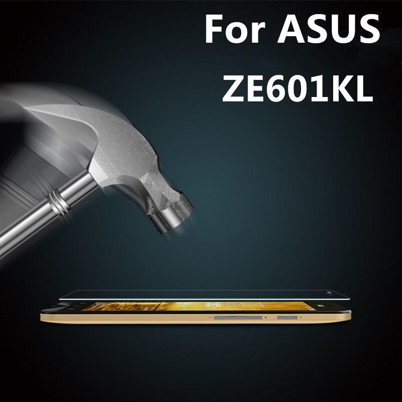 Vidrio templado Para El Asus Zenfone 2 Láser ZE601KL Film Protector Para Asus ZE ZE601 601 601KL KL a prueba de Explosiones protectores de pantalla
