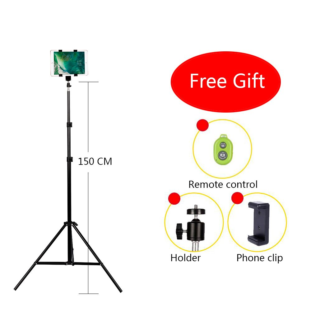 CY Aluminum DV <font><b>Tripod</b></font> Digital Camera Webcam Phone <font><b>Tripod</b></font> Metal Stand Mount <font><b>Tripod</b></font> For Phone iPhone With Bluetooth remote control