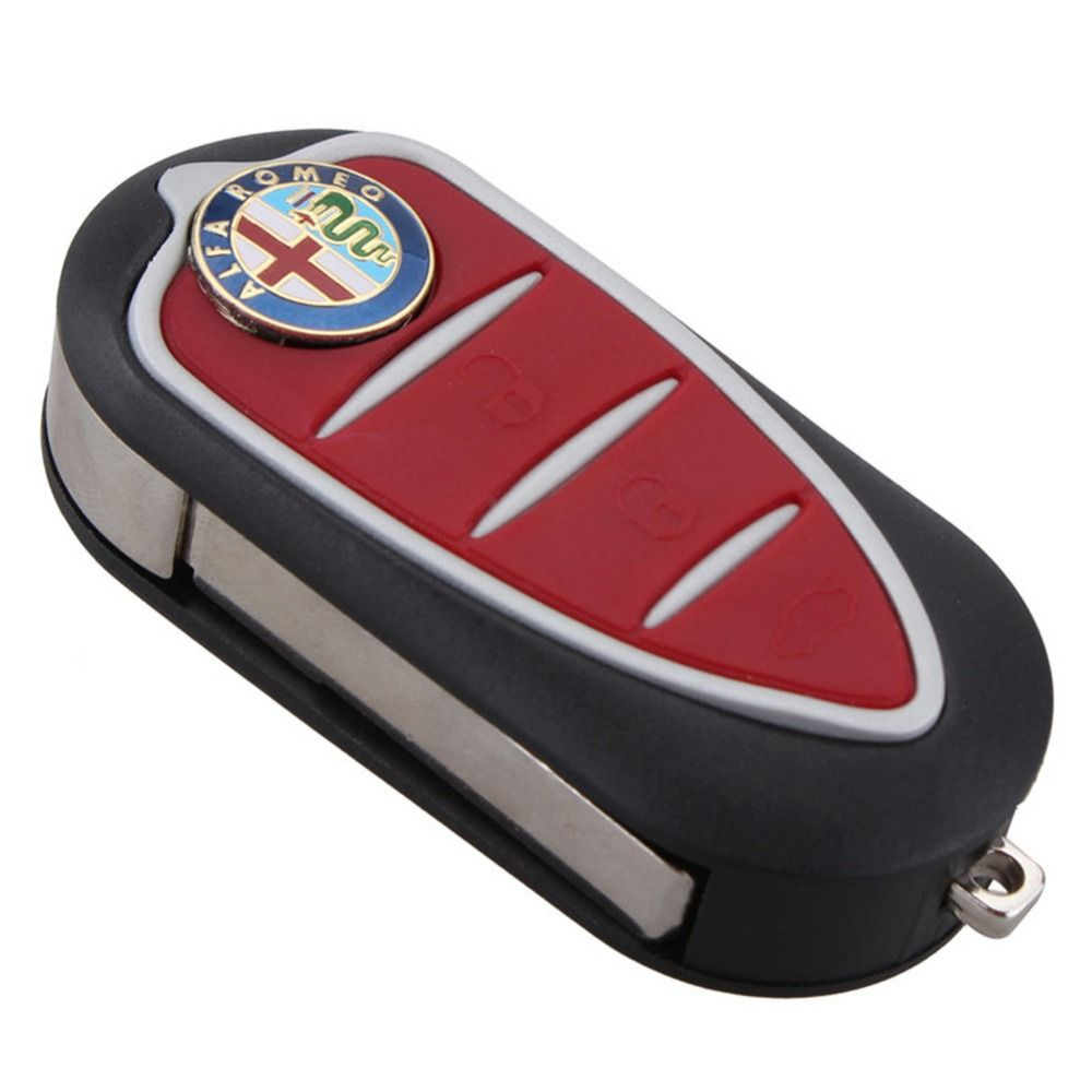 Супер 3 кнопки дистанционного брелока корпус blade для Alfa Romeo MiTo Giulietta gto 159
