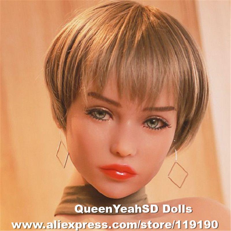 Neue Oral Sex Puppe Kopf Japanischen Lebensechte Silikon Liebe Puppen Köpfe Für 170 cm 168 cm 165 cm 158 cm 155 cm 148 cm 145 cm 140 cm