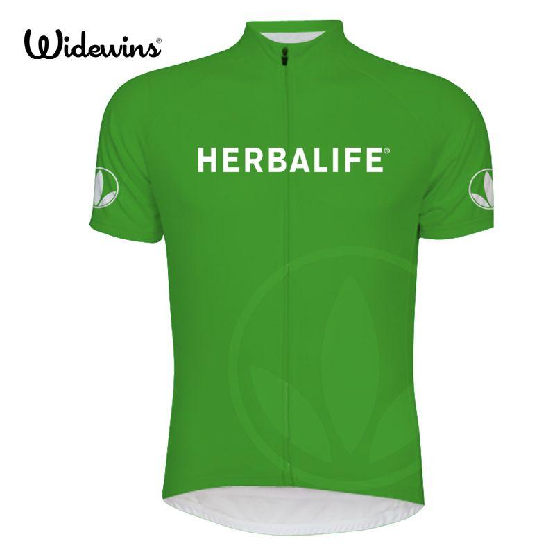 2017 neue Radfahren Jersey Herbalife grün beste qualität radfahren kleidung Top qualität Herbalife sport-hemd Radfahren Jersey hemd 6511