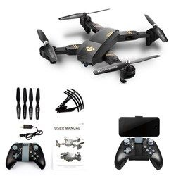 Original XS809W Mini Foldable Drone RC Selfie Drone with Wifi FPV HD Camera Altitude Hold & Headless Mode RC Quadcopter Drone