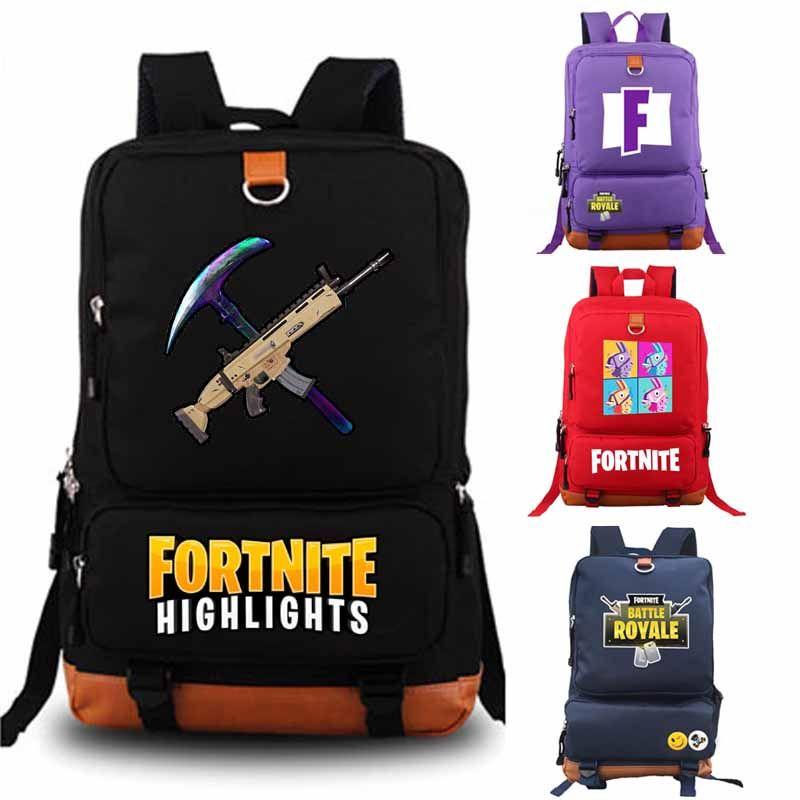 Fortnite Battle Royale backpack student school bag Daily backpack student Rucksack Notebook backpack