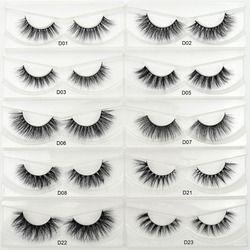 Visofree Lashes 3D Mink Eyelashes HandMade False Eyelashes Long lasting False Lashes Full Strip Fake Eyes Lashes Extension Tools