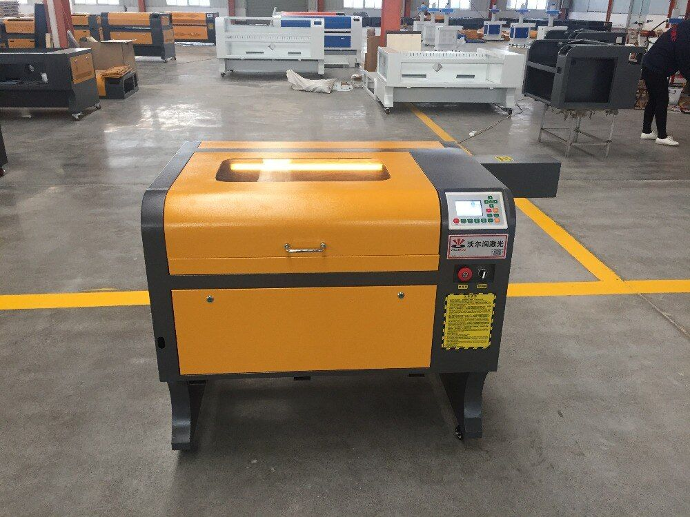 VOIERN WR4060 50 W RUIDA co2 laser gravur maschine, 220 v/100 v laser cutter, CNC gravur maschine