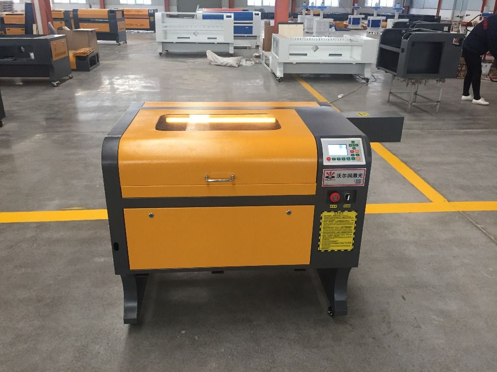 VOIERN WR4060 50W RUIDA co2 laser gravur maschine, 220 v/100 v laser cutter, CNC gravur maschine