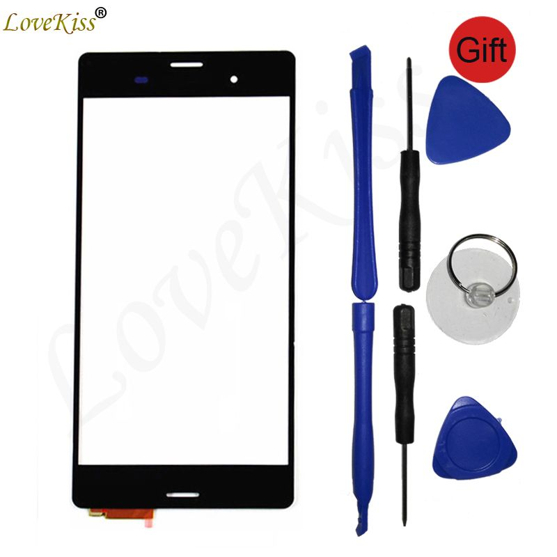 Touchscreen For Sony Xperia Z3 D6653 D6633 L55T L55U Touch Screen Sensor D6603 Front Panel Digitizer LCD Display Glass TP Cover