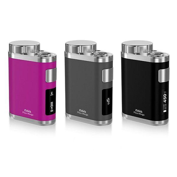 original Eleaf iStick Pico Mega Box Mod upgraded version of 18650 26650 cell iStick Pico for electronic cigarette