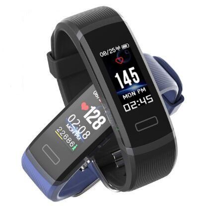 Bracelet à puce GT101 Fitness Tracker horloge pour IOS android Smart bande de fréquence cardiaque Smart Bracelet PK xiaomi bande 3 PK mi bande 2
