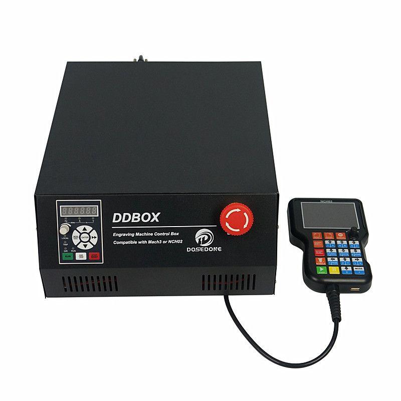 Unabhängige CNC Control Box 4 Achse Off Line Controller Handrad für CNC Router DIY Upgrade