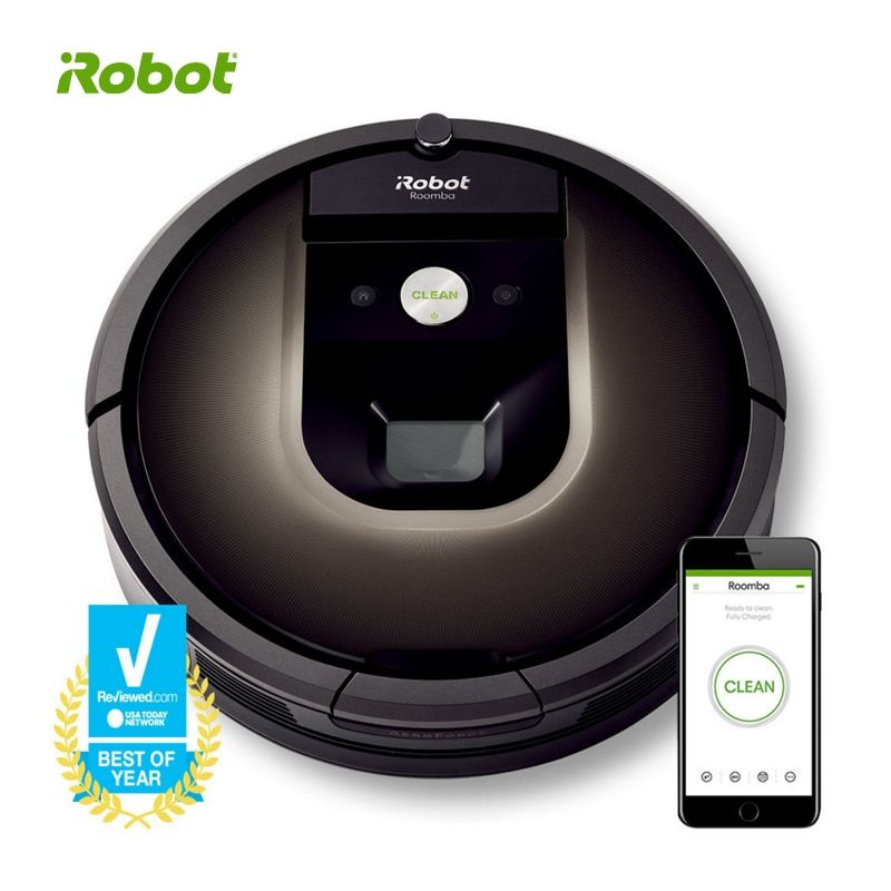 Original New iRobot Roomba 980 Robot Vacuum Wi-Fi Connected Robot Vacuum Smartest and best cleaning technology 1-Year Warranty
