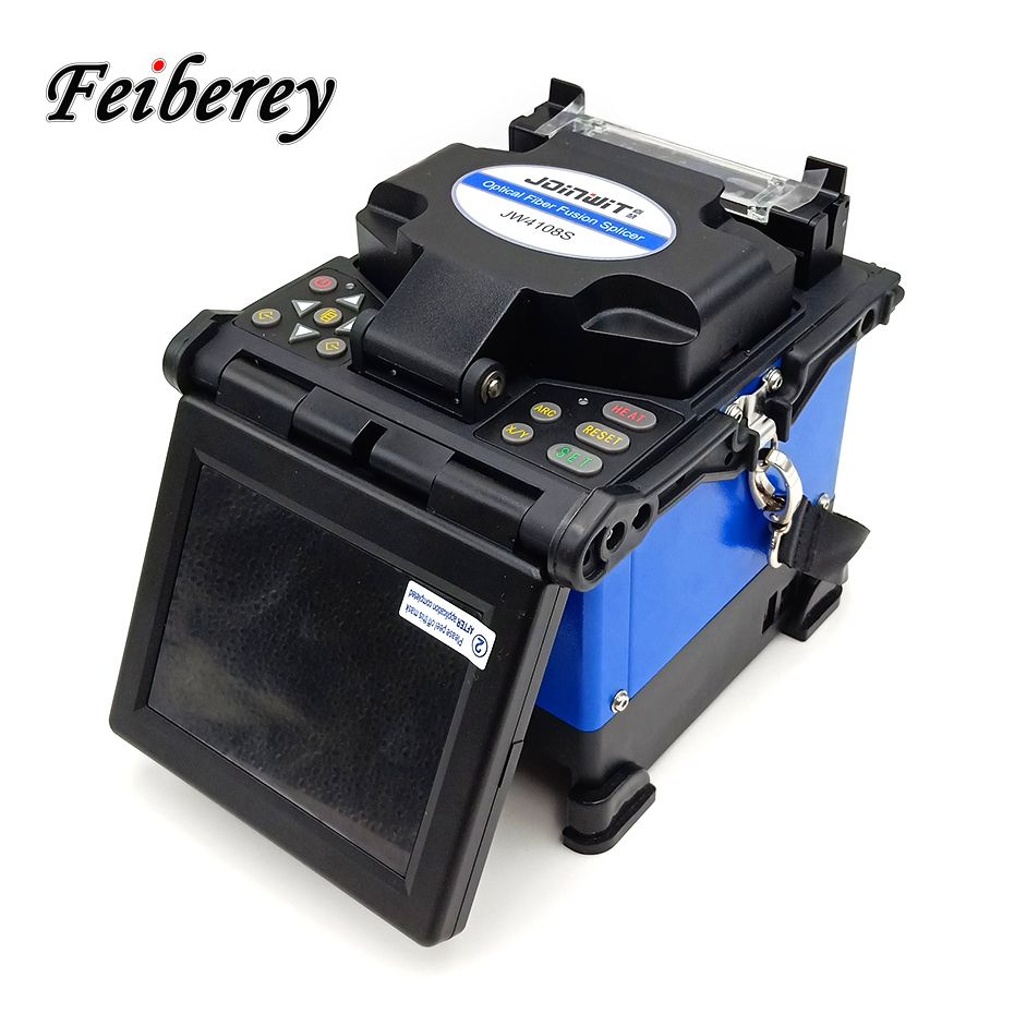 High Precision JW4108S Fully Automatic Intelligent ARC Optical Fiber Fusion Splicer for Fiber Optic Cable Fusion Splicing