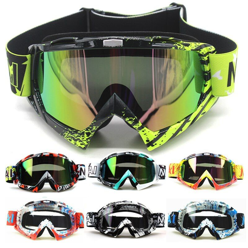 New Motocross Goggles Glasses Oculos Cycling MX Off <font><b>Road</b></font> Helmet Ski Sport Gafas For Motorcycle Dirt Bike Racing Goggles