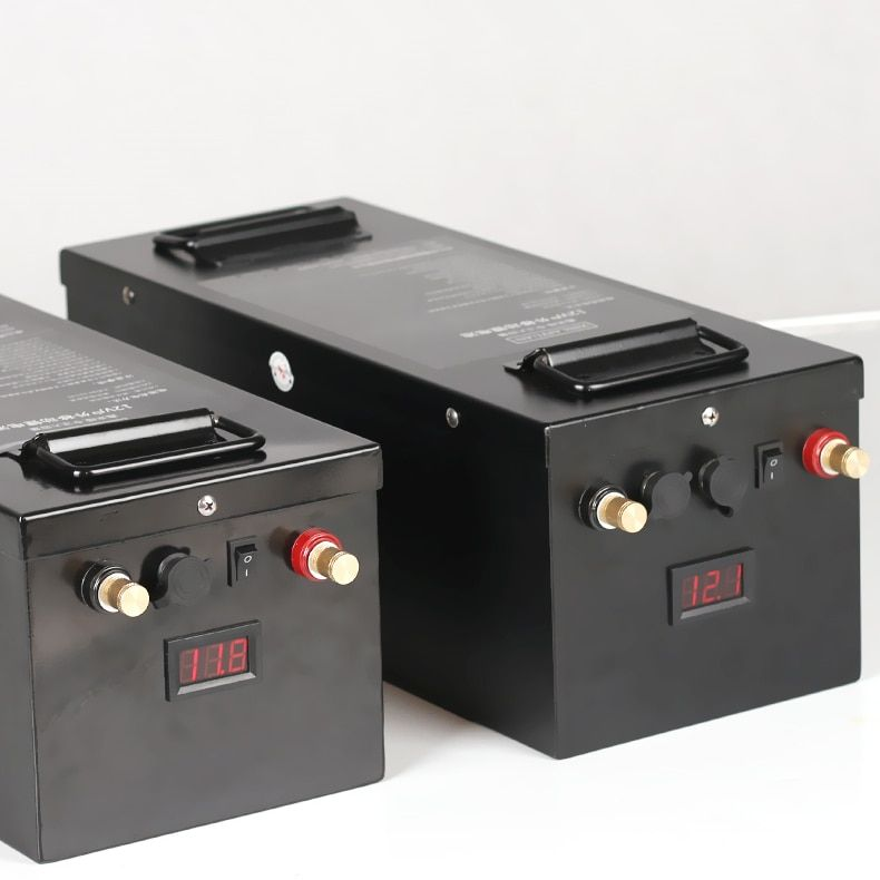 High-kapazität 12 V 200AH 300AH li-ion lithium-ionen li-polymer Batterie für motor häuser, boot motoren, e-schiff, solar panel, stromquelle