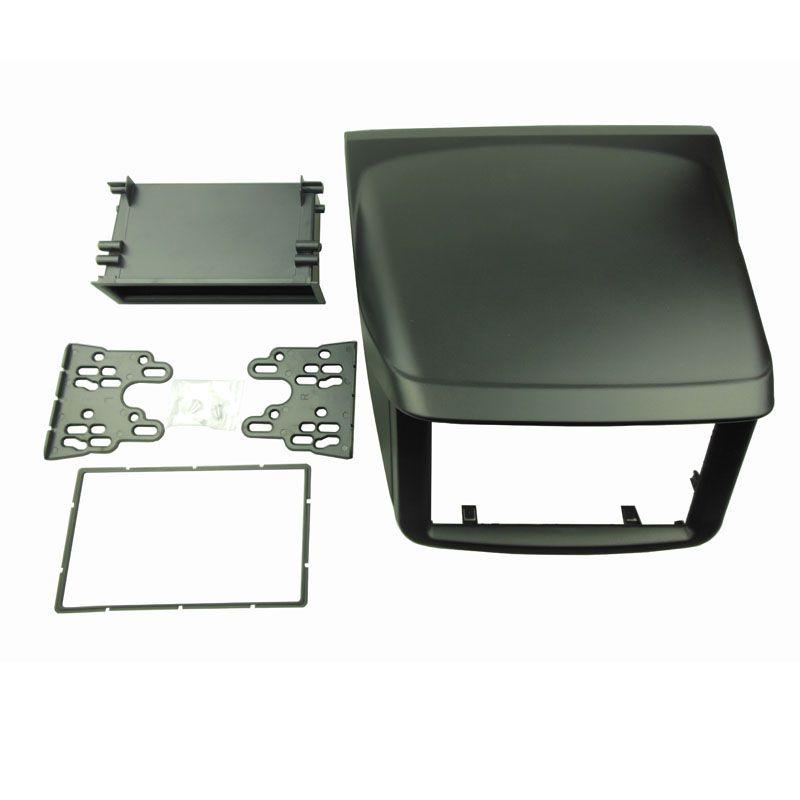 Single/Double Din Fascia for Mitsubishi Pajero Sport Triton L200 Radio DVD Stereo Panel Dash Mounting Installation Trim Kit