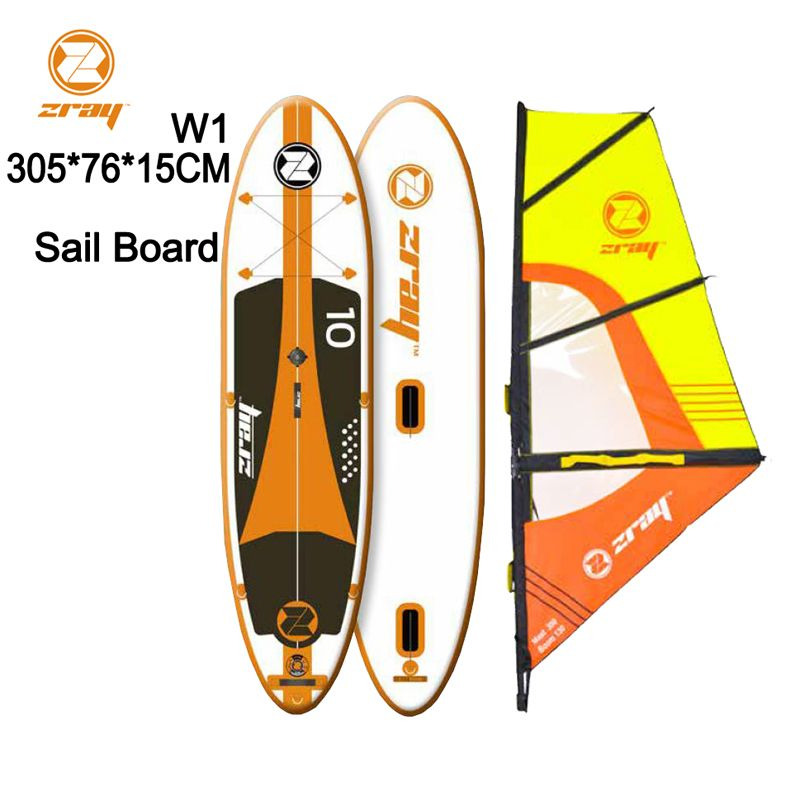 Segel bord SUP 305*76*15 mt Z RAY W1 stabile aufblasbare stand up paddle board surf surfen kajak sport boot bodyboard ruder windsail